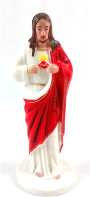 "4"" Sacred Heart of Jesus Magnetic Statue"