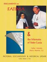 Documents of Fatima and the Memoirs of Sr. Lucia