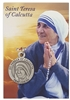 Saint Teresa of Calcutta Pewter Medal