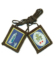 G: Our Lady of Lourdes Brown Scapular