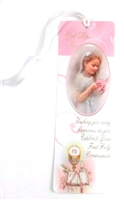 God Bless You First Communion Girl Bookmark BM52G