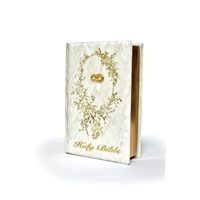Pearl Design Wedding Bible