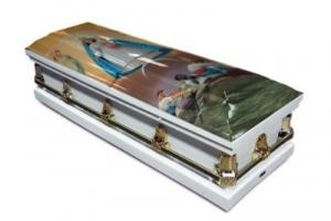 Our Lady of Charity Casket