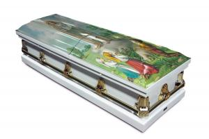 Our Lady of Fatima Casket