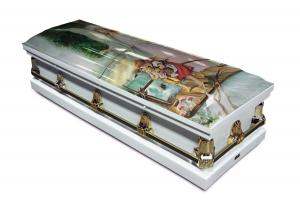 Guardian Angel Casket