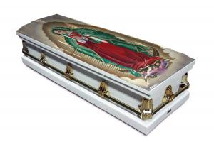 Our Lady of Guadelupe Casket