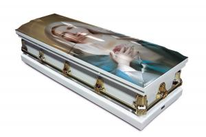 Immaculate Heart of Mary Casket