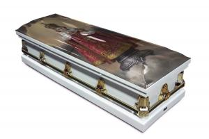 Infant of Prague Casket
