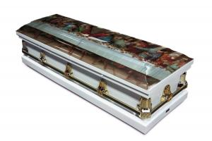 Last Supper Casket