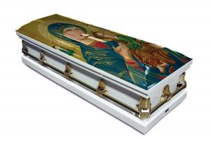 Our Lady of Perpetual Help Casket