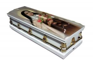 Saint Therese Casket