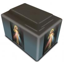 Divine Mercy Urn (Spanish Inscription)