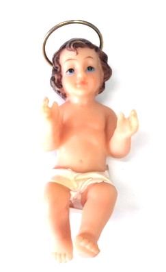 Resin Baby Jesus Figure