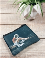 Christ and The Cross Rosary Pouch