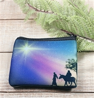 NATIVITY ROSARY POUCH