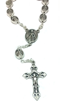 Divine Mercy Silver One Decade Rosary
