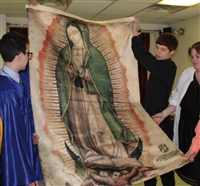 Full Size Tilma of Our Lady of Guadalupe