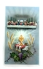 Communion Prayer Last Supper Holy Card with Medal