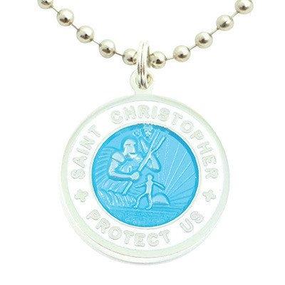 f797f297129d9 St. Christopher/Surfer Medal, 1.9cm