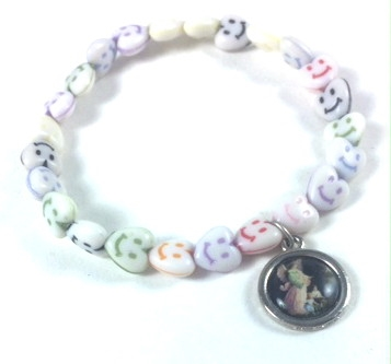 tiny child childs fullxfull footprint s charm bracelet with birthstone engraved products il name bar and omzq