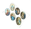 Large Size Oval Religious Sticker Sheet GRH544