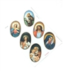 Large Oval Religious Sticker Sheet GRH545