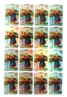 Saint Christopher Sticker Sheet