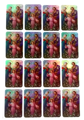 Holy Family Sticker Sheet