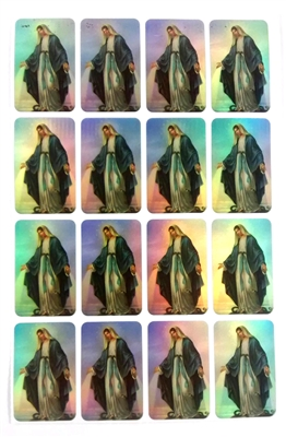 Our Lady of Grace Sticker Sheet