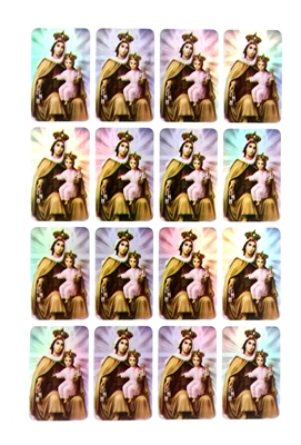 Our Lady of Mount Carmel Sticker Sheet