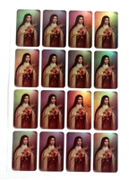 Saint Therese Sticker Sheet