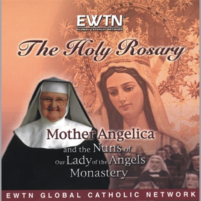 The Holy Rosary with  Mother Angelica CD