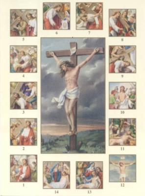Stations of the Cross  Card