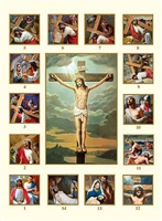 Stations of the Cross Paper Card