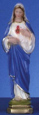 "12"" Italian Plaster Catholic Statue -- The Immaculate Heart"