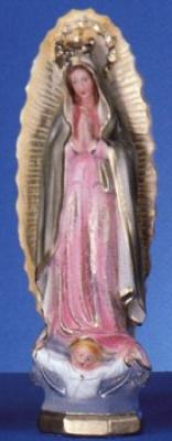 "Our Lady of Guadalupe - 12"" Italian Plaster, Catholic Statue"