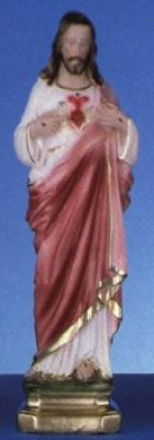"The Sacred Heart - 12"" Italian Plaster, Catholic Saint Statue"