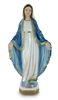 "Our Lady of Grace 12"" Italian  Chalk Pearlized Statue"