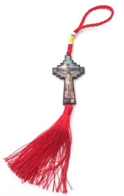 Jesus on the Cross Tassel