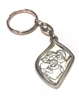 Italian Made Silver Plated Holy Family Keyring K151-613