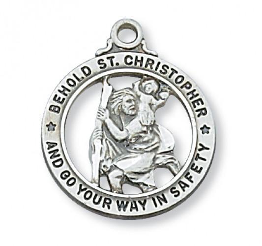 Resultado de imagen de st christopher medal