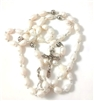 Authentic Large Fresh Water Pearl Bead Rosary