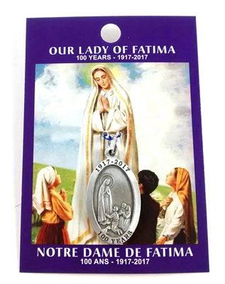 Our Lady of Fatima 100th year Medal