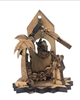 Hand Made Olive Wood Nativity Set from Bethlehem