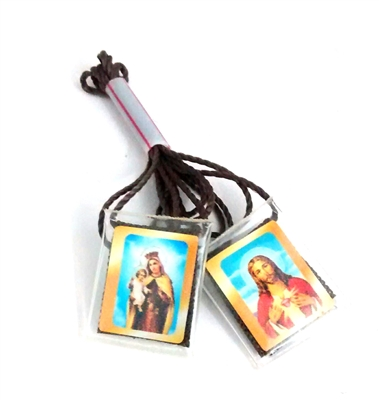 Our Lady of Mount Carmel and Sacred Heart of Jesus Brown Scapular