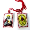 Sacred Heart of Jesus Red Scapular MS704SH