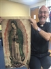 Medium Size Tilma of Our Lady of Guadalupe