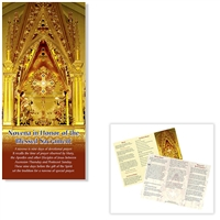 Novena in Honor of the Blessed Sacrament