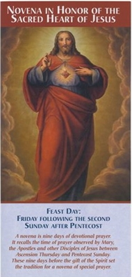 Novena In Honor of The Sacred Heart of Jesus