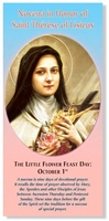 Novena in Honor of Saint Therese of Lisieux